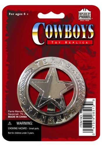 (Texas Ranger Badge - ST)