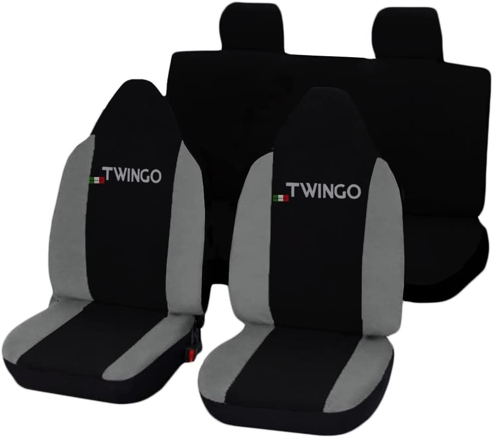 Lupex Shop Twingo/_N.GS Coprisedili Nero//Grigio Scuro
