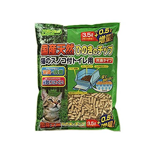 シーズイシハラ クリーンミュウ国産天然ひのきのチップ 3.5L