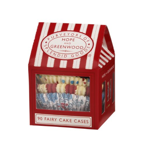 Talking Tables HOPE-CAKECASES 90-Pack Hope and Greenwood Cake Case House