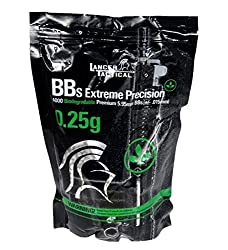 0.25g Bio-Degradable Seamless BB's - 4000 Rds.