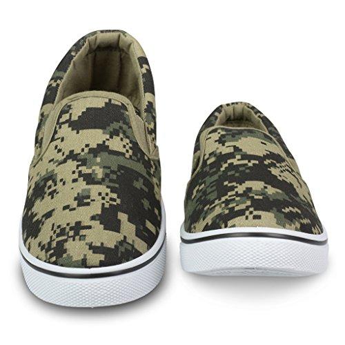 Innflytelse Menns Gore Slip-on Uformell Sneaker Camo ...