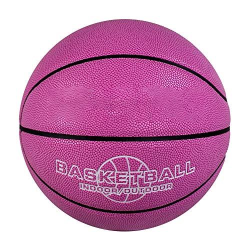 Xlq Baloncesto, No. 6 Básquetbol de Baloncesto Básquetbol Rosado Suministros Escolares adecuados para niñas Adolescentes Hombres Adultos por Xlq