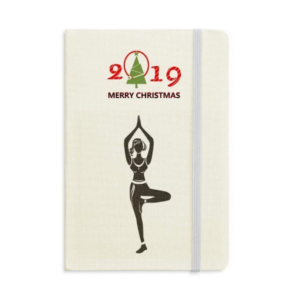 Diario de yoga para niña, diseño con silueta 2019: Amazon.es ...
