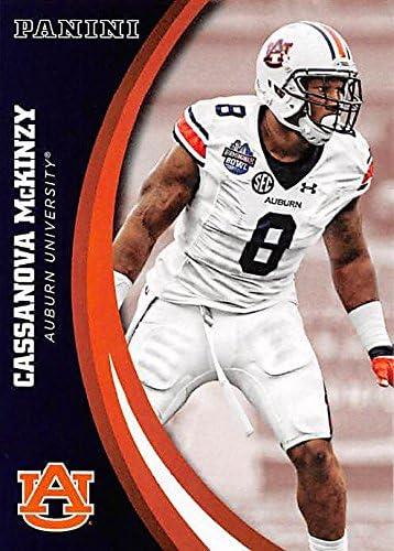 Cassanova McKinzy football card (Auburn Tigers) 2016 Panini Team ...