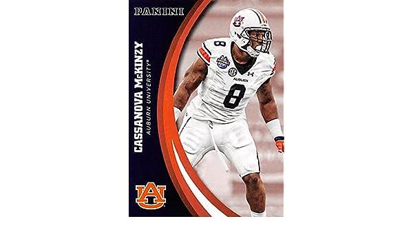 quality design faae5 76c6d Cassanova McKinzy football card (Auburn Tigers) 2016 Panini ...