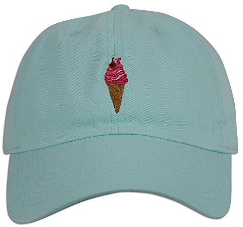 Ice Cream Dad Hat Cap Curved Baseball Embroidered Bill Unstructured  Strapback (Black) at Amazon Men s Clothing store  cbd6302b4a9c