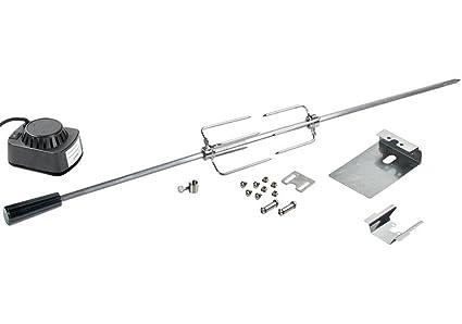 Acero inoxidable Asador 110 cm – Motor 240 V – Se puede utilizar para varios modelos
