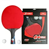 Boliprince DHF Professional Carbon Table Tennis Blade 6 Stars Ping Pong Paddle (Shakehand)