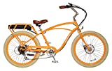 "Pedego Comfort Cruiser 26"" Classic Orange with Crème Balloon Package 36V 15Ah"