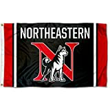 College Flags and Banners Co. Northeastern University Huskies Flag