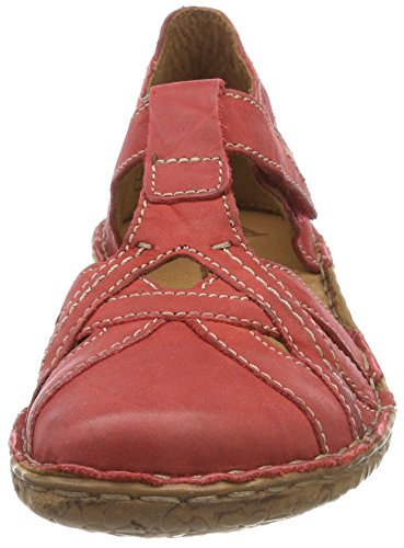 29 Sandals Seibel Red Rosalie Hibiscus Toe Closed WoMen Josef zntwq1Hw