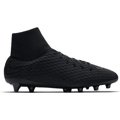 separation shoes e2c27 69b70 Nike Hypervenom Phelon 3 DF Agpro, Chaussures de Fitness Homme, Noir Black  001,