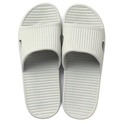 spessore pantofole home balneazione estate cool pantofole l'estate casa di DogHaccd con scivolose di coppia 2 femmina pantofole a carino pantofole Home Grigio zFftnqwd