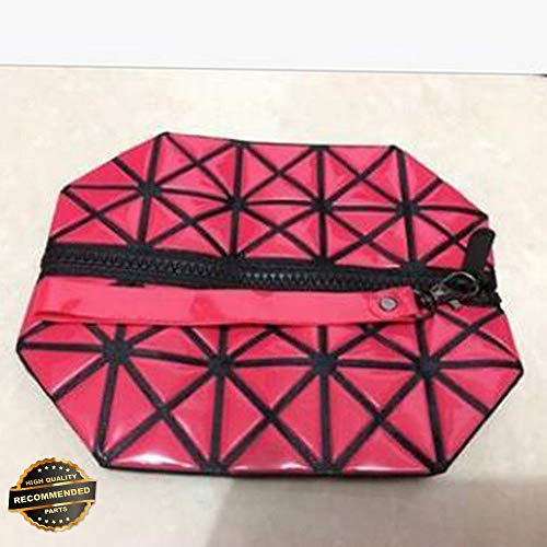 Gatton Women Cosmetic Bag Geometry Handbag Waterproof Travel Makeup Pouch Beauty Case | Style TRVIHR-11292101