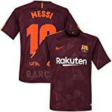 Barcelona 3rd Messi Jersey 2017 / 2018 (Official Printing) - S