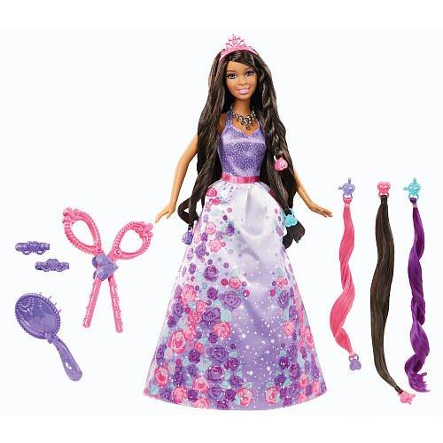 Barbie Cut N Style Princess AfricanAmerican Doll