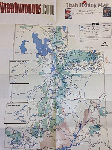 Utah Fishing Map