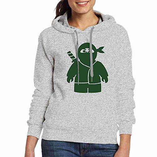 Stephanie Ralph Des Femmes De Hoodies Des Femmes Des T-shirts Hoodies Personnalisés Sweatshirts Ninja F Mélange Personnalisé Graphique Gris Pull-over