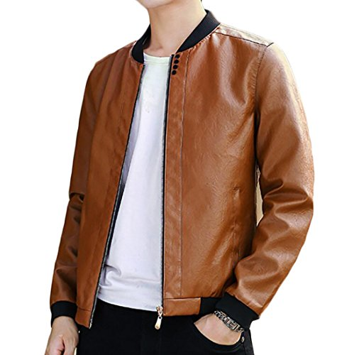 Cheap Leather Motorcycle Jackets For Men - 8