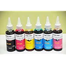 Inkxpro Brand 600ml Hi-definition Dye Ink Refills for Epson Artisan 1430, Stylus Photo 1400 All-in-one Printer