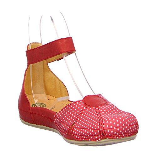 Dr. Brinkmann 710772 Bailarinas para mujer Rojo - rojo