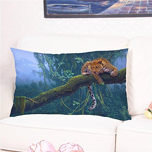 Fashion 3D Animal Printed Cushion Cover Multicolor Pillow Case for Sofa Bed Home Decoration 5075cm/5090cm Cojines Jardin