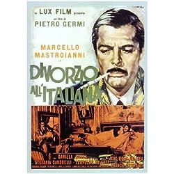 Divorce - Italian Style (Italian) 27x40 Movie Poster (1961)