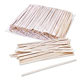 Birch Wood Coffee / Beverage Stirrers 7'' (1000 pack) Eco-Friendly Great For Your Coffee Nook.