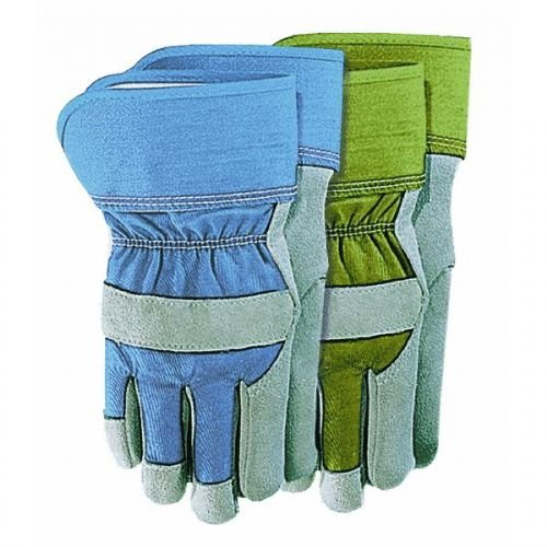 Palm Work Leather Gloves Suede - Wells Lamont 4113S Women'S Suede Leather Palm Work Gloves, Small