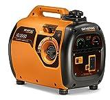 Generac 7123 iQ2000 Super Quiet 1600W/2000W Gas Powered Inverter Generator - CSA Compliant