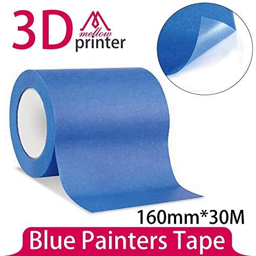 Impresora 3D – Cinta adhesiva de alta temperatura de 160 mm x 30 m ...