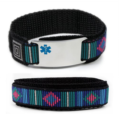 Taking Eliquis Sport Medical Id Alert Bracelet With Decorative Adjustable Wristband
