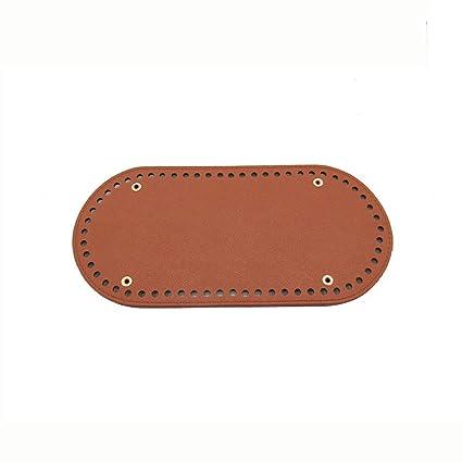 Amazon.com: Bolsas de ganchillo de punto marrón para uñas ...