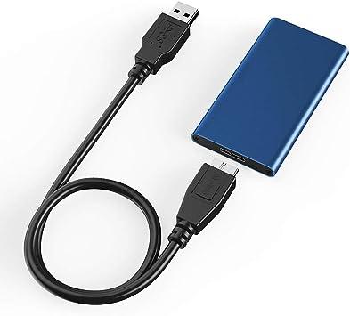 MSATA a USB 3.1 Gen2 10GBPS SSD Carcasa Adaptador con USB Tipo C ...