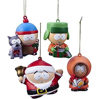 """Kurt Adler South Park Ornament (Set of 4), 2.75 to 3"""""""