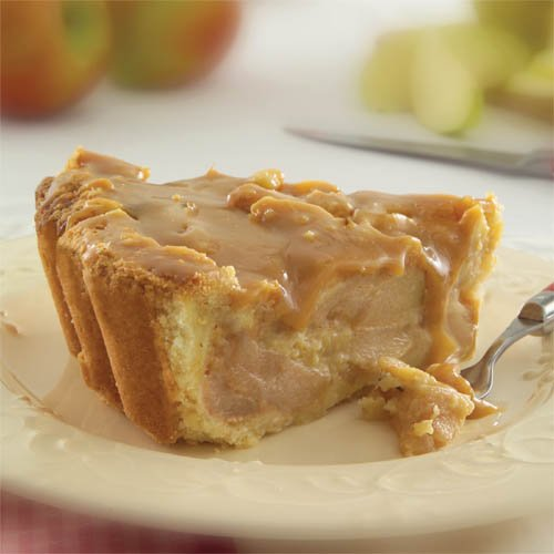 Sweet Street Sliced Caramel Granny Smith Apple Deep Dish Pie 4.75 lb (14 Slices) Pack of 4 by Sweet Street Frozen (Image #1)