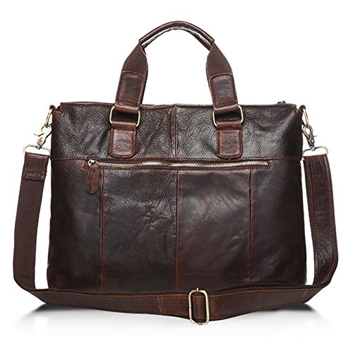Main Drf document Serviette Portable De Business Ordinateur Porte Sac Homme Café À Bg262 Cuir wxxqZU