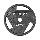 CAP Barbell 2-Inch Olympic Grip Plate, Various