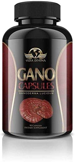 King of Herbs,Vidadivina s Popular Gano 90 Capsules 500 MG