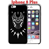 Black Panther design for Iphone 8 Plus 5.5in Hard Case Cover (black5)