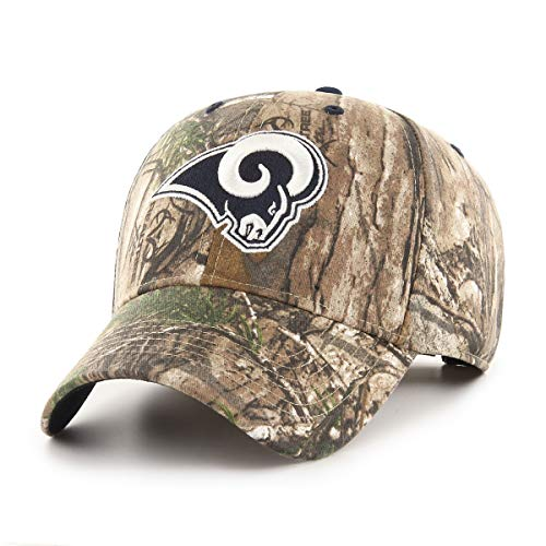 Los Angeles Rams Camouflage Caps f8cd3e453