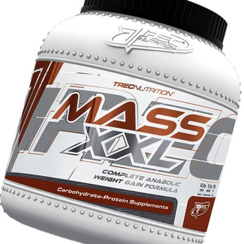 Mass Builder - Mass XXL 2kg (chocolate) - Complete Anabolic Weight Gain Formula by Trec Nutrition by TrecNutrition