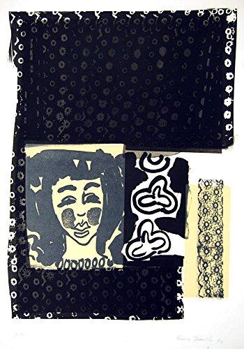 Harvey Daniels Chintz - 1964 Original Signed Lithograph Vintage Pop Art