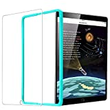 ESR Screen Protector for the iPad 2018/2017 9.7 [1 Pack] [Free Installation Frame] [Scratch-Resistant], Tempered Glass Screen Protector for iPad 2018/2017/iPad Air 2/iPad Air/iPad Pro 9.7/9.7 inch Device