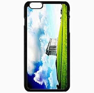Unique Design Fashion Protective Back Cover For iPhone 6 Plus Case Slim (5.5 inch) Digital Nature Pictures Nature Black