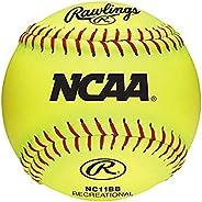 Rawlings NCAA Recreational Softballs, 12 Count