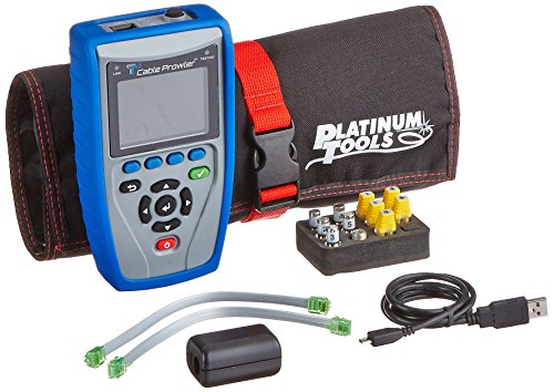 Platinum Tools TCB300 Cable Prowler Tester with Quick Start Guide and Warranty Card by Platinum Tools