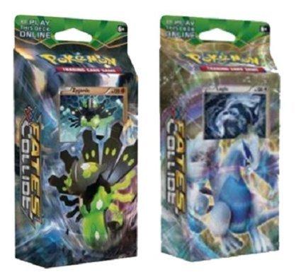 Pokemon Xy Fates Collide - Both Theme Decks Zygarde & Lugia, 120 Cards ()