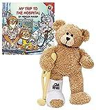 feet book - GUND Break a Leg Jr., Broken Leg Bear Get Well Soon Teddy Bear with a Cast, Crutch and Signature Cast 8.5 inches with Little Critter Book
